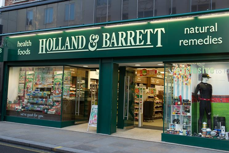 holland and barrett food on the go