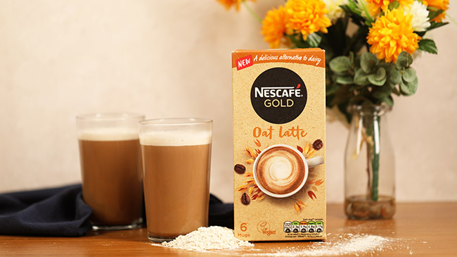 Nestlé launches Vegan Society-certified plant-based latte coffees in