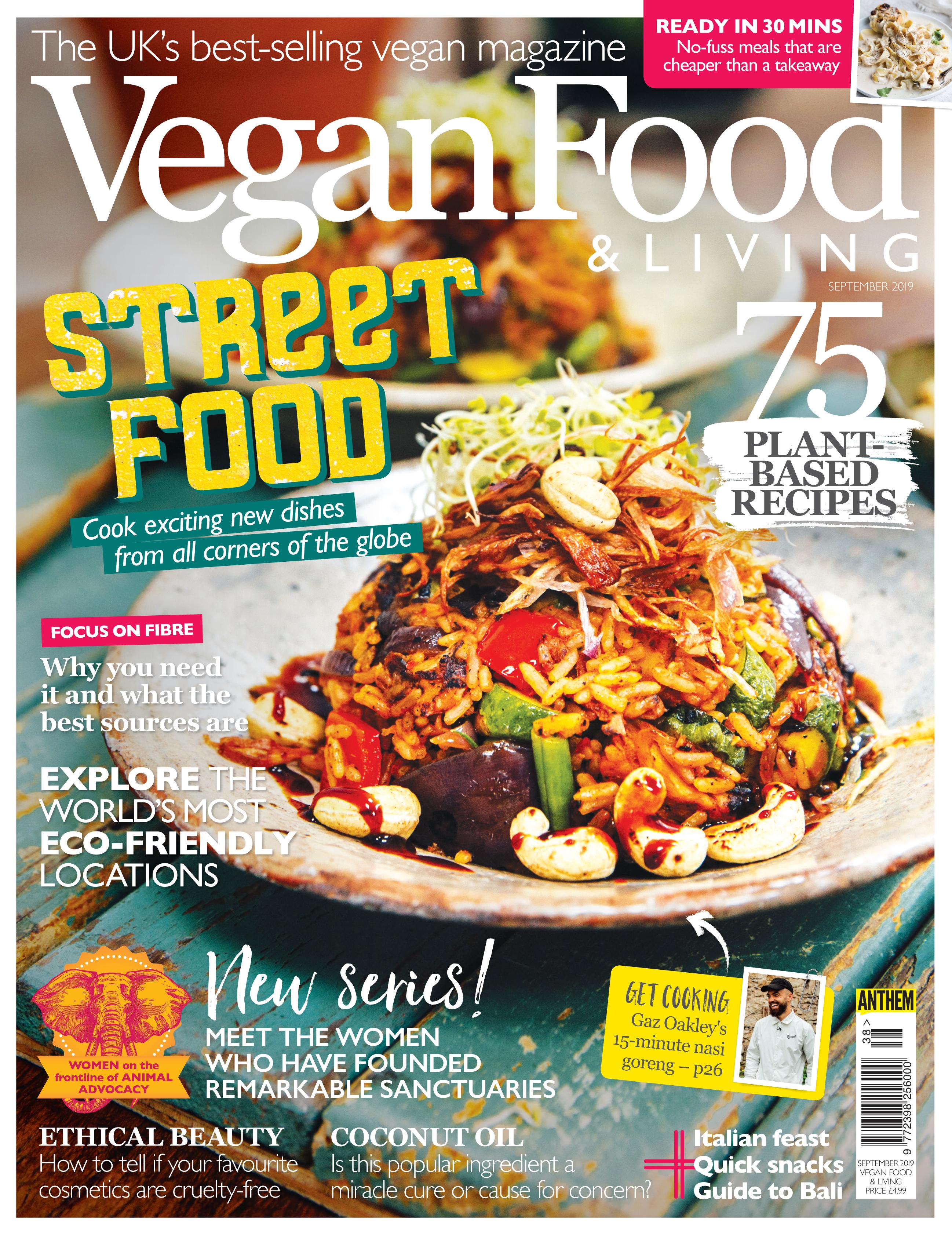 Vegan Food & Living Latest Issue