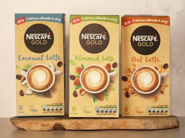 Nestlé plant-based latte coffees