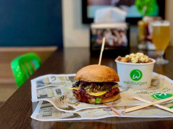 Wahlburgers Vegan Haggis Burger Moving Mountains