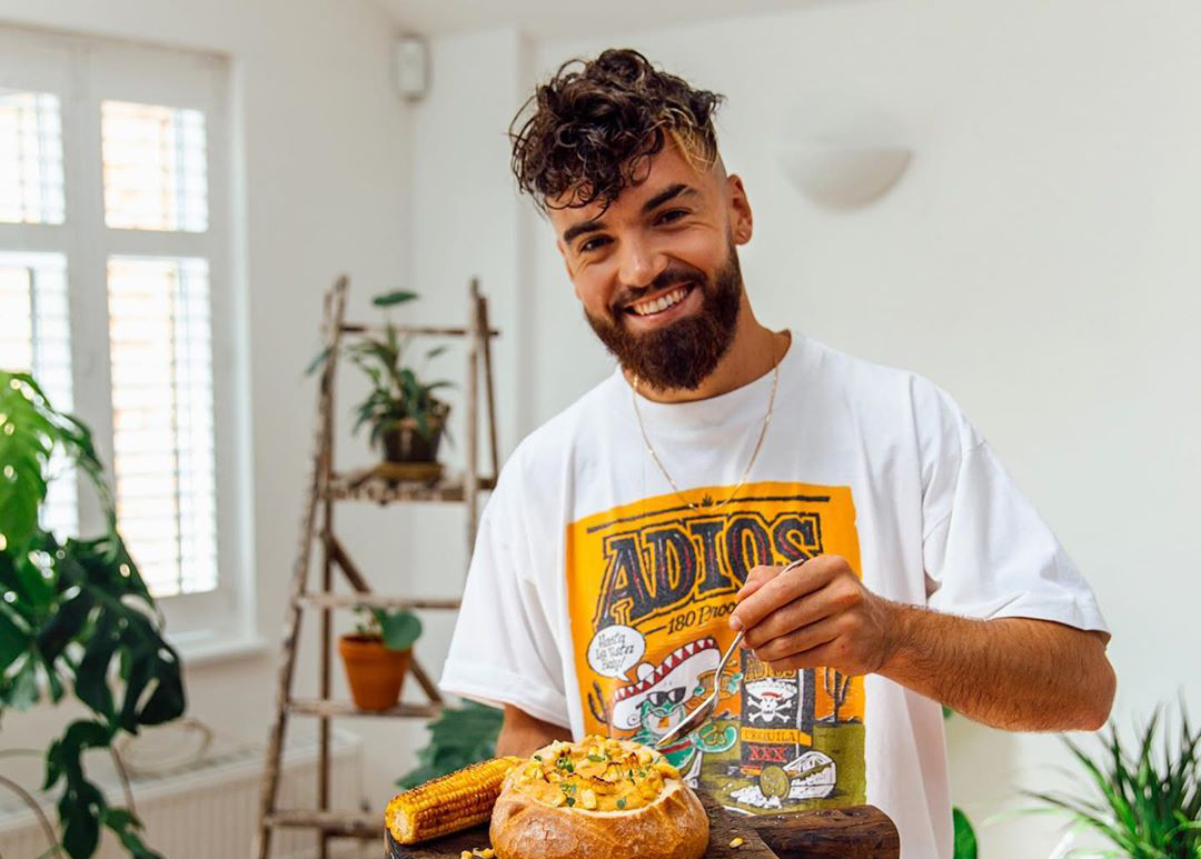 Vegan chef and YouTube star Gaz Oakley makes Sunday Times' 'Top 100 Influencers' list