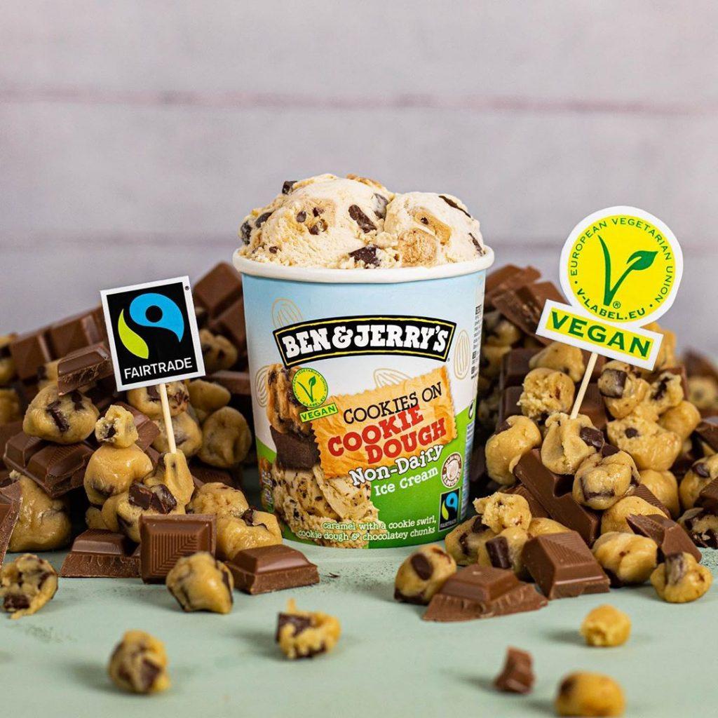 Ben & Jerry's vegan cookie dough ice-cream UK