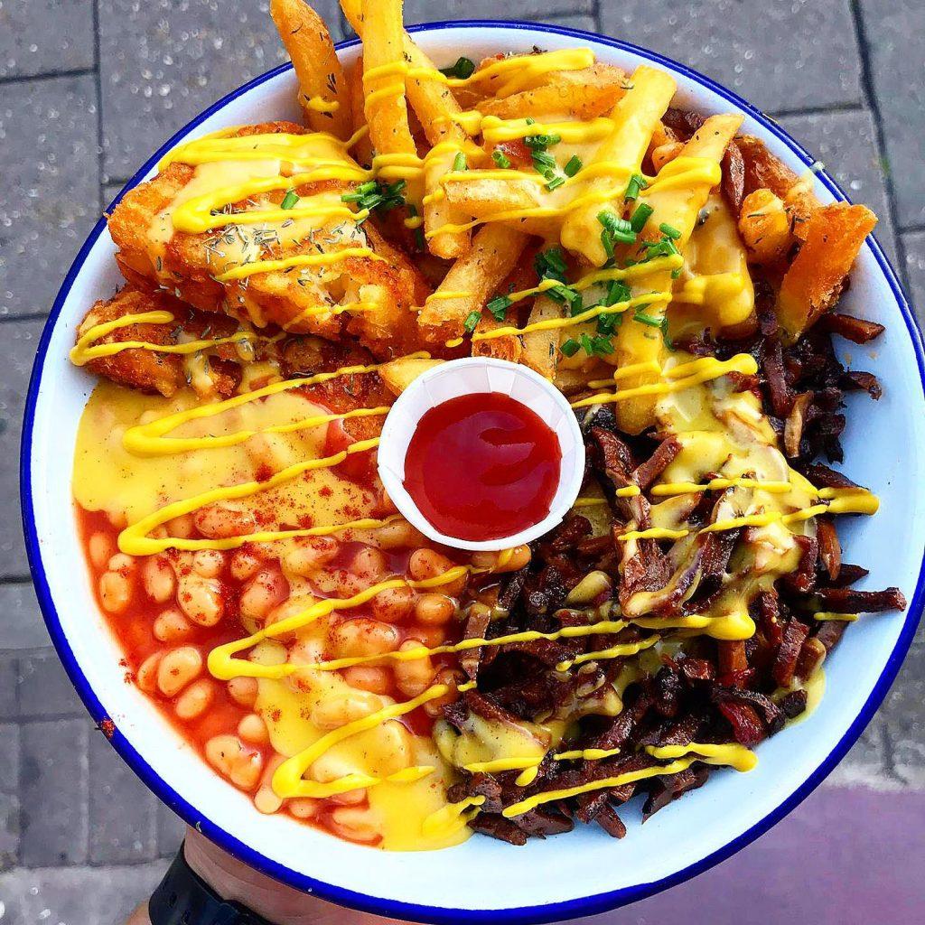 vegan cheesesteak London