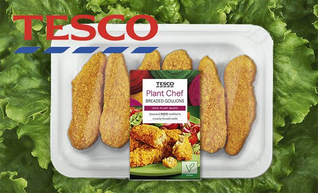 Tesco Launches A Huge New Affordable Own Brand Vegan Plant