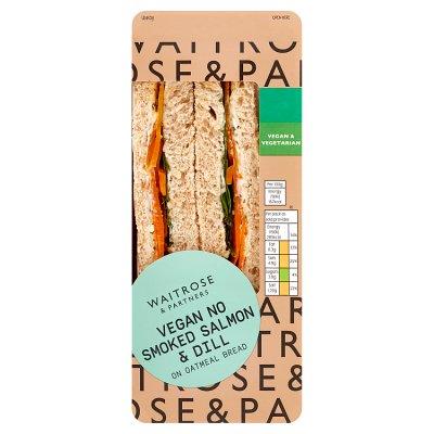 waitrose vegan smoked salmon sandwich