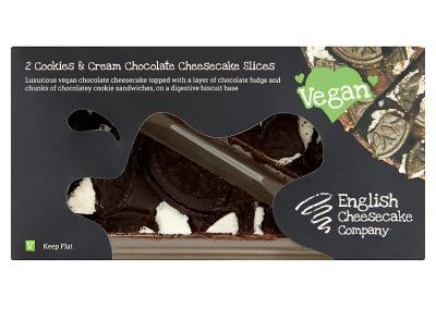 waitrose vegan cookies and cream cheesecake