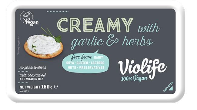 new violife vegan cheeses
