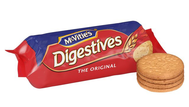 McVities Original Digestives are now suitable for vegans