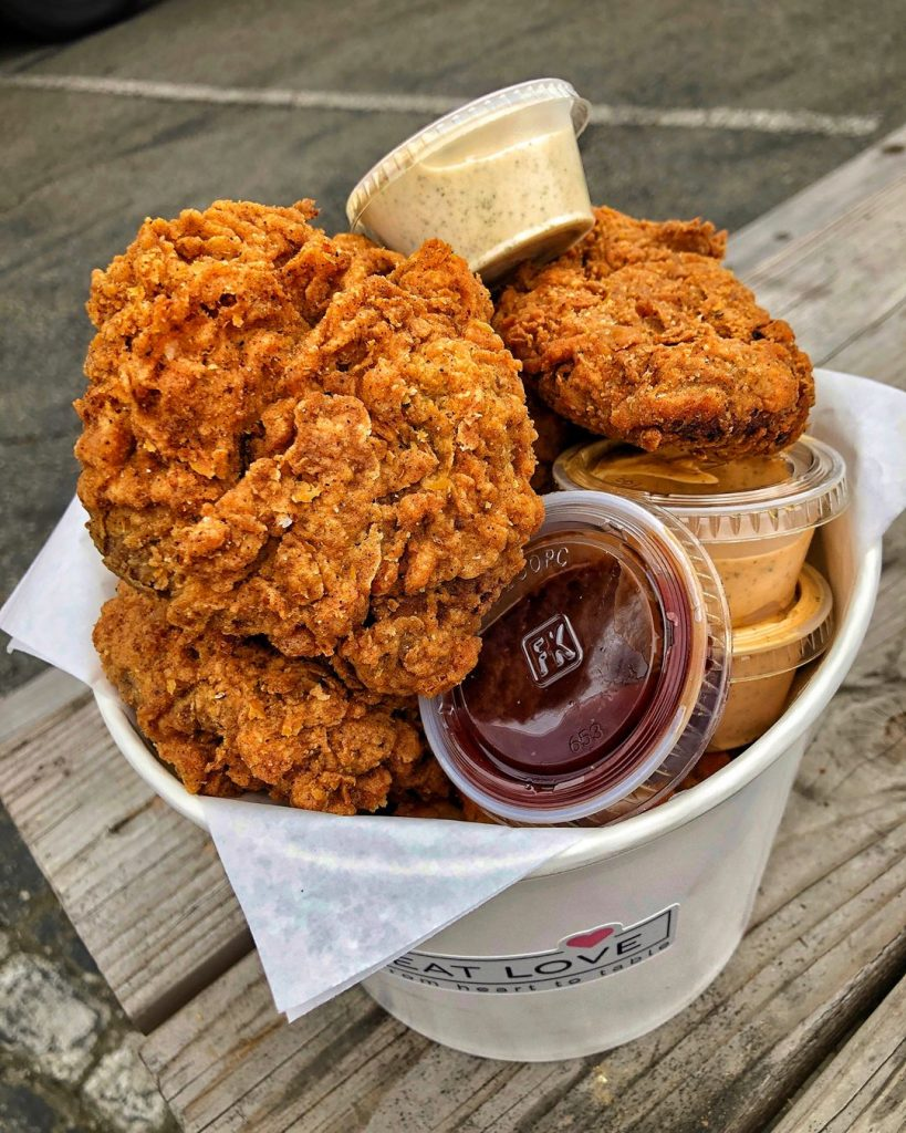 vegan fried chicken shop us