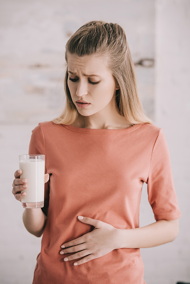 Lactose intolerance vs cow's milk allergy