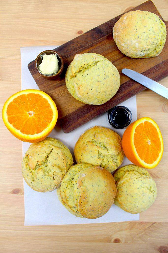 vegan poppy seed scone recipe