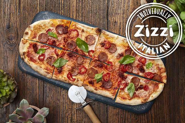 zizzi vegan jackfruit pepperoni pizza
