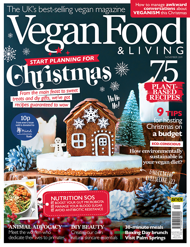 Get Set For Christmas With The November Issue Of Vegan Food