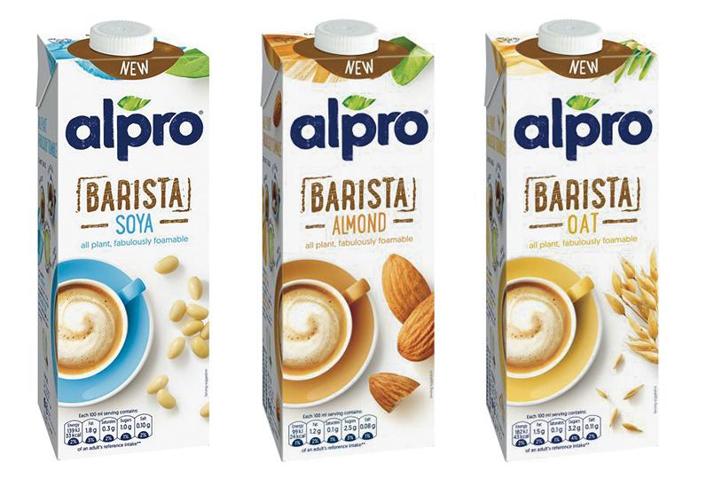 Alpro Launches A New Barista Plant Milk Range In Supermarkets