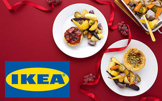 Christmas Meals.Ikea S New Christmas Menu Is 100 Meat Free And Includes