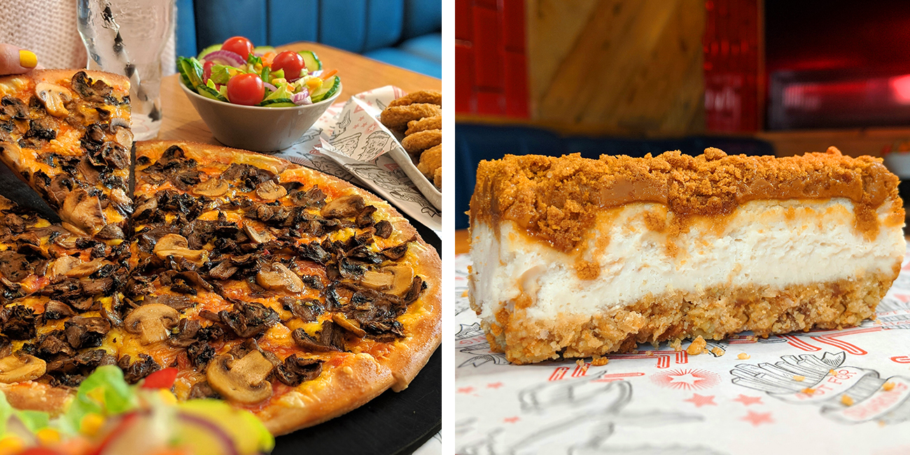 Pizza Hut expands its vegan menu with a brand new pizza, nuggets and a cheesecake