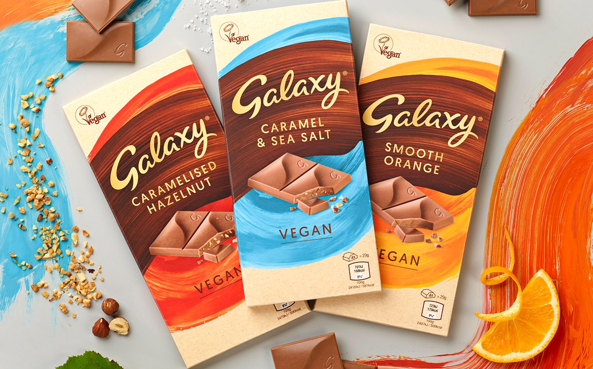 vegan galaxy chocolate