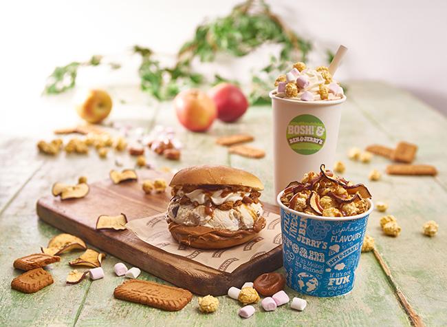 Ben & Jerry's vegan ice-cream burger