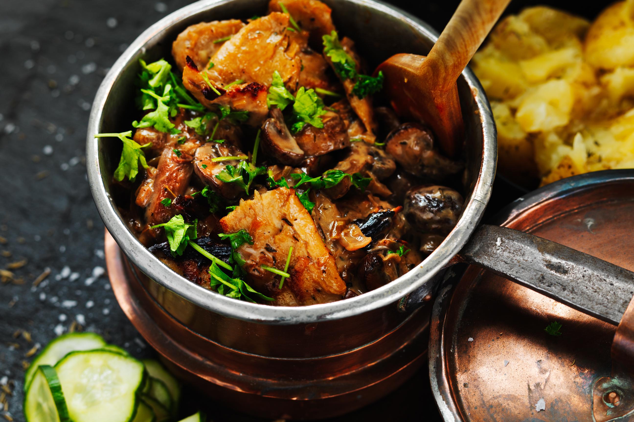 vegan autumn stew recipe