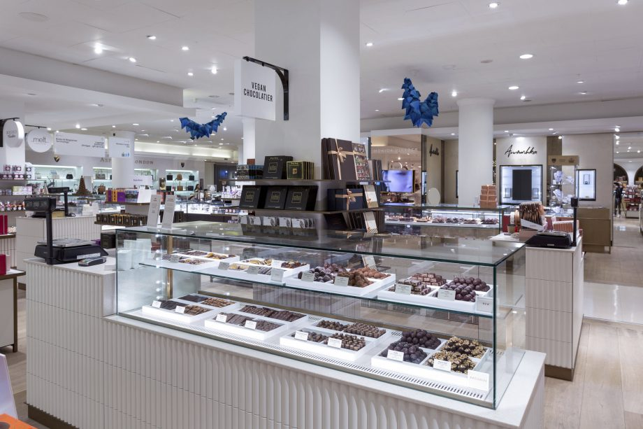 The UK's largest vegan chocolate counter has opened in Selfridges
