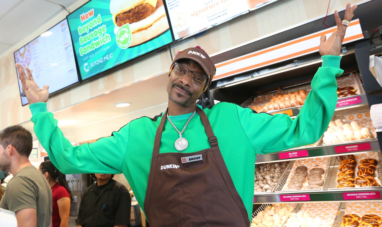 Snoop Dogg takes over Dunkin' Donuts to launch Beyond Meat sandwiches