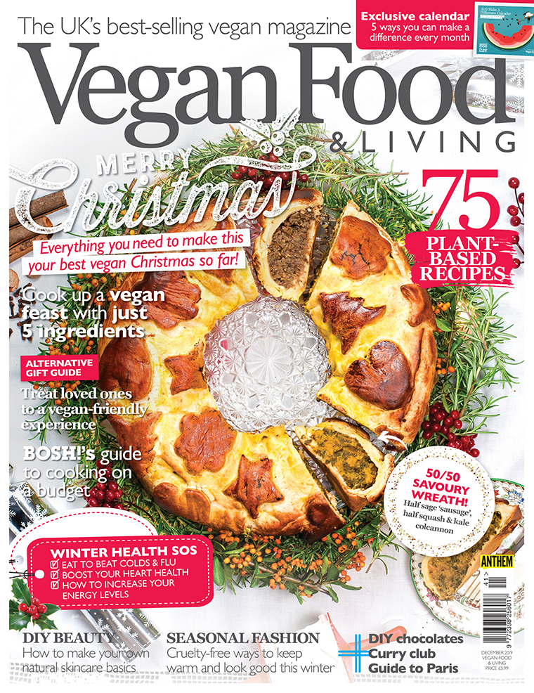 vegan food and living december 2019