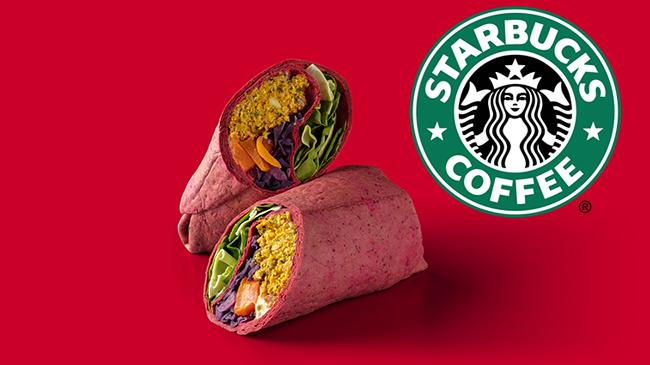 Starbucks'Very Merry Vegan Wrap