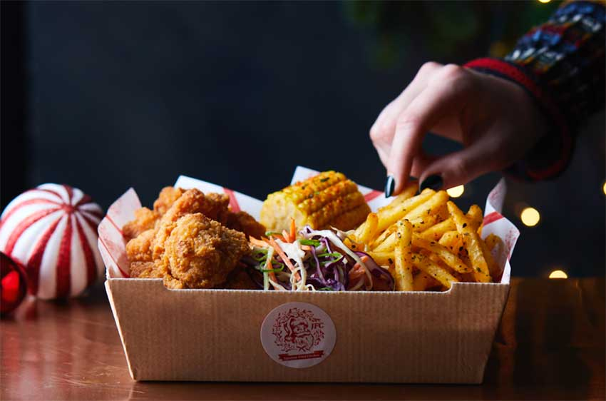 Yo! launches a vegan 'Festive Feast' dinner with vegan nuggets