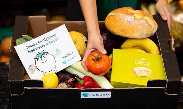Morrisons is selling unsold food boxes for just £3.09 to fight food waste