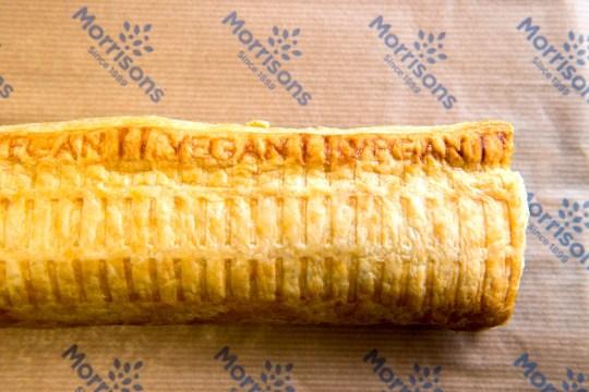 morrisons footlong sausage roll