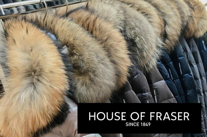 House of Fraser is still selling fur despite enormous public backlash