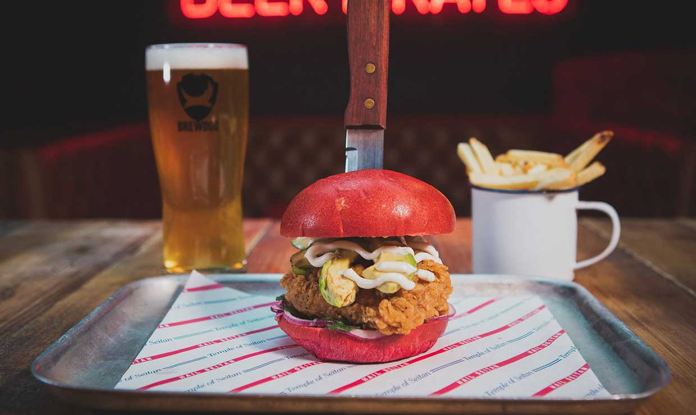 BrewDog to serve vegan seitan wings and burgers from Temple Of Seitan in BrewDog bars across the UK
