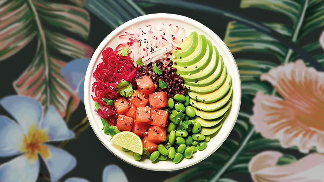 Veggie Pret adds 15 new vegan products to stores including poké bowls