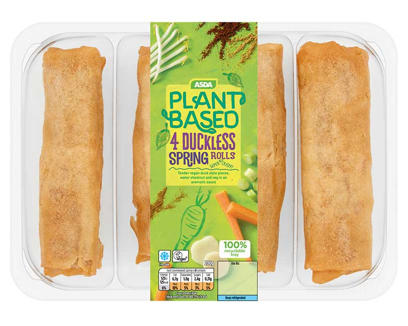 Asda Launches A New Affordable Vegan Range With 48 Plant