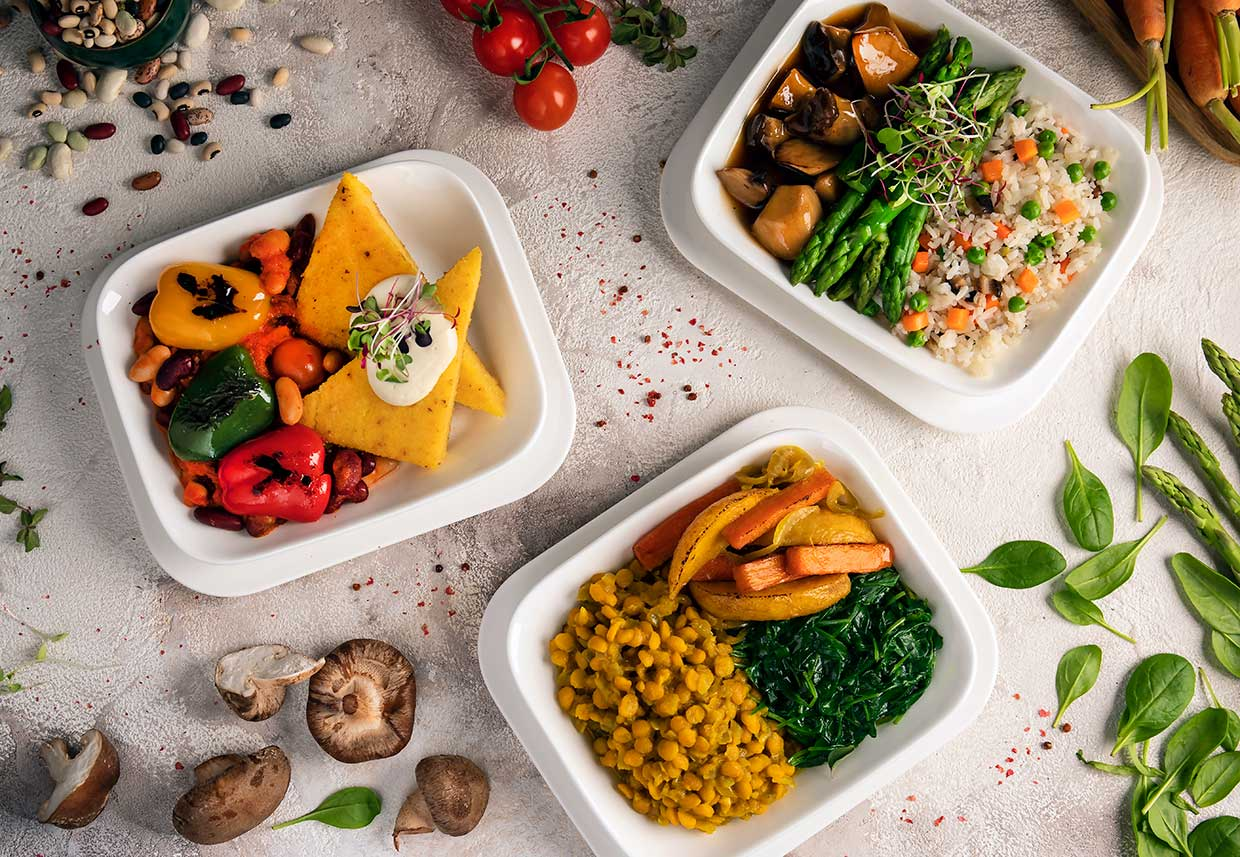 Emirates celebrates serving 345,000 plant-based meals in 2019 with a new vegan option