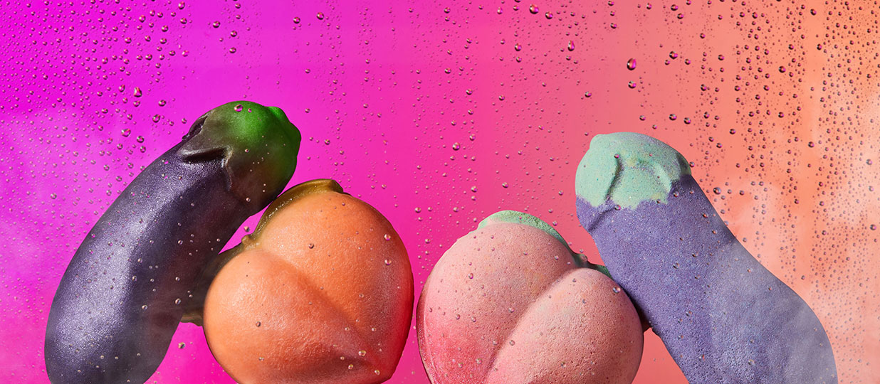 Lush has released its cheeky vegan Valentine's Day range