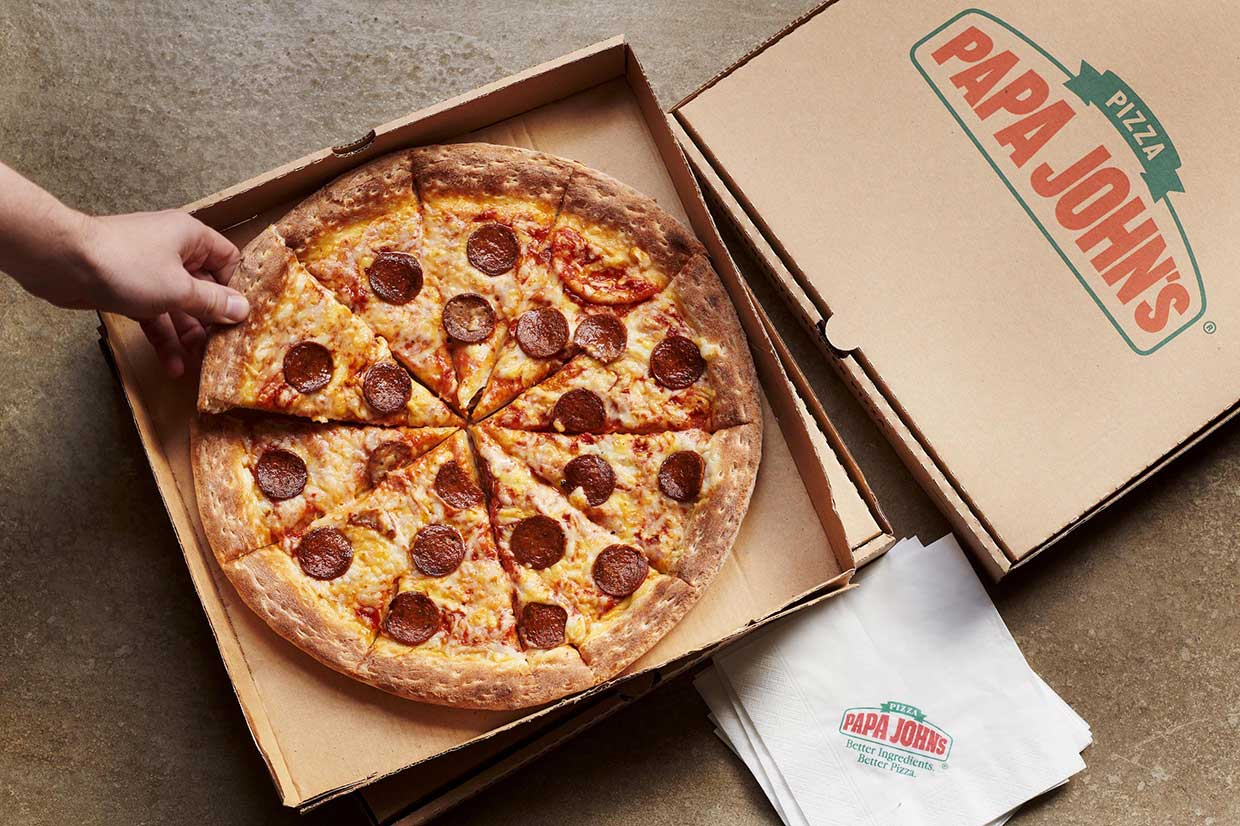 Papa John's launches four new vegan pizzas including vegan sausage and pepperoni