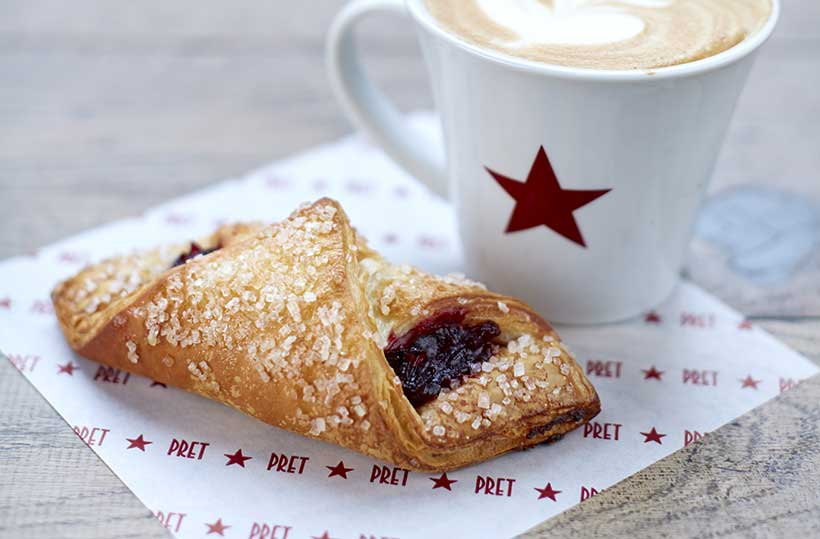 Pret's vegan croissants outsell non-vegan version by 100% – and they're giving them away free!