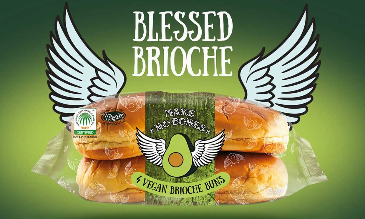 Vegan brioche buns have just launched at Tesco