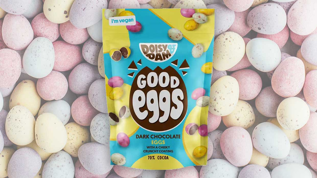 Vegan 'Mini Eggs' have landed at Holland & Barrett stores in time for Easter